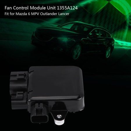 Ejoyous Cooling Fan Control Module Unit for Mazda 6 MPV Outlander Lancer 1355A124, Cooling Fan Control Module,1355A124 - image 9 of 12