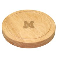 Picnic Time Collegiate Circo Cheese Board Set