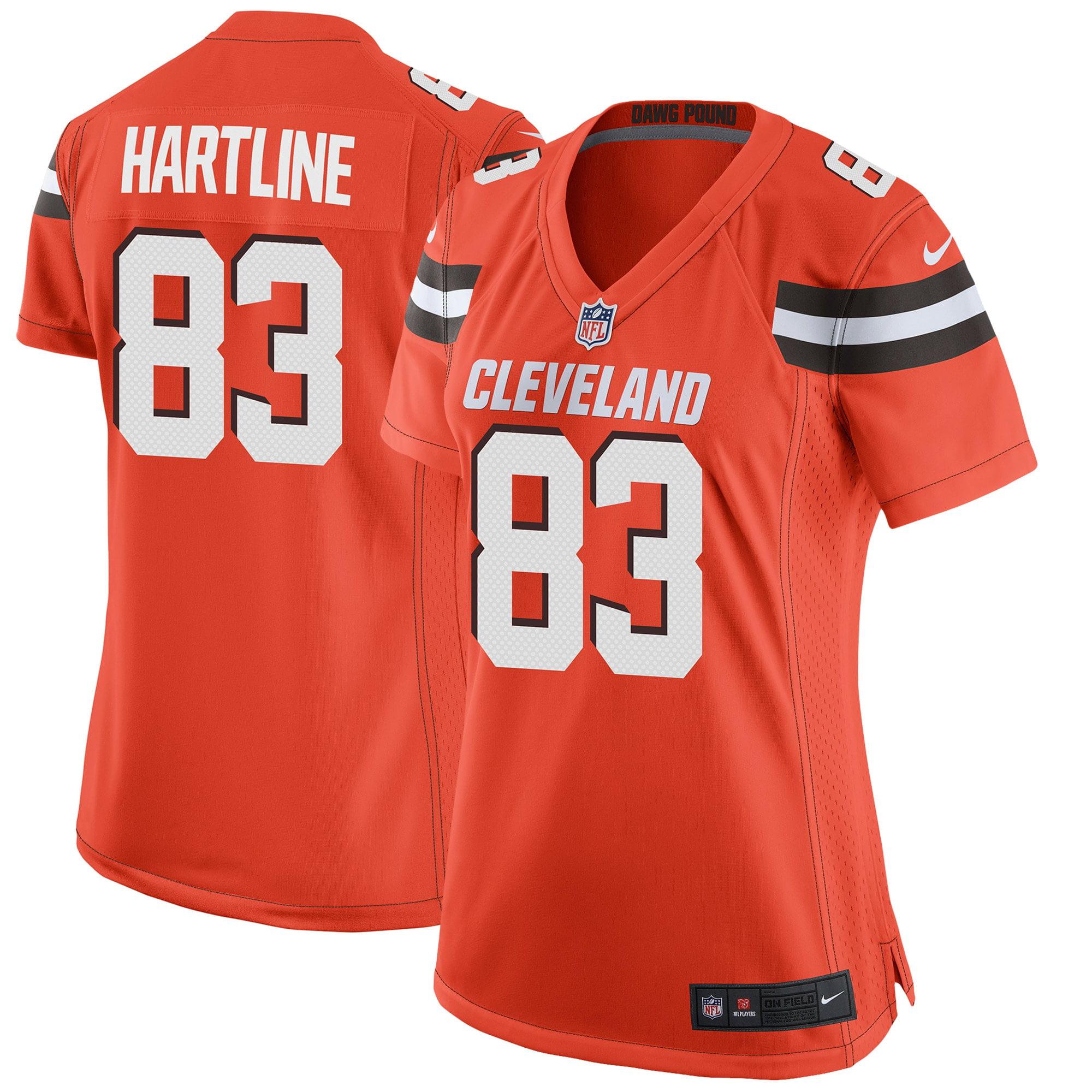 Brian Hartline Cleveland Browns Nike Women's Game Jersey - Orange - Walmart.com