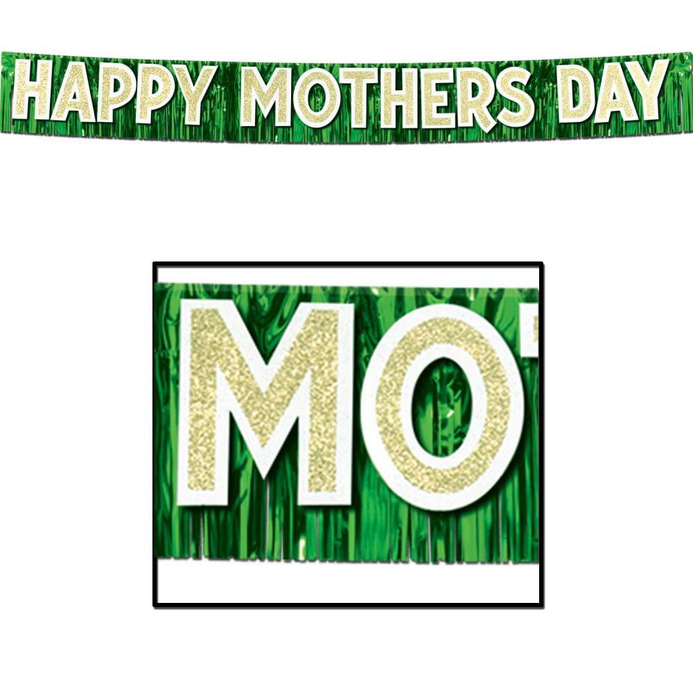 Beistle (6ct) Metallic Happy Mother's Day Banner