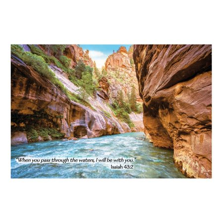 River Canyon VBS Plastic Backdrop (Vbs Supplies)