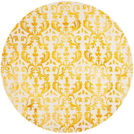 Safavieh Dip Dye 5' X 8' Hand Tufted Rug in Ivory and Gold - image 3 de 10