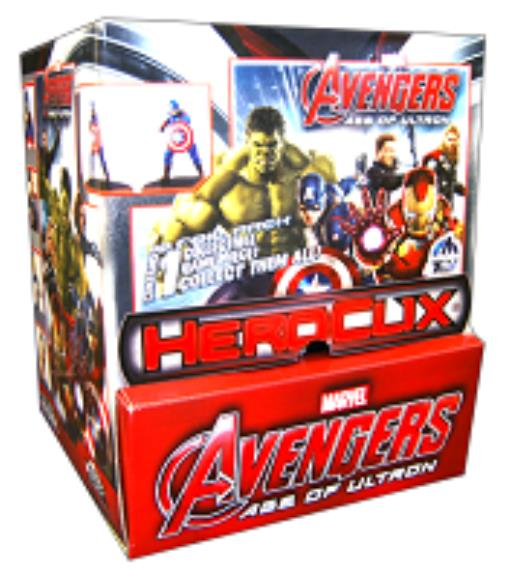 Avengers Age of Ultron Movie Gravity Feed Booster Pack (Case 24 Packs) MINT New by WizKids
