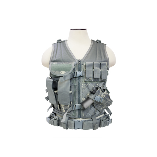 Tactical Vest/Digital Camo Acu M-XL