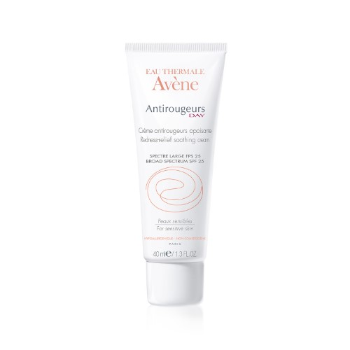 Avene Antirougeurs Day Redness Relief Soothing Facial Cream, SPF 25, 1.35 Fl Oz