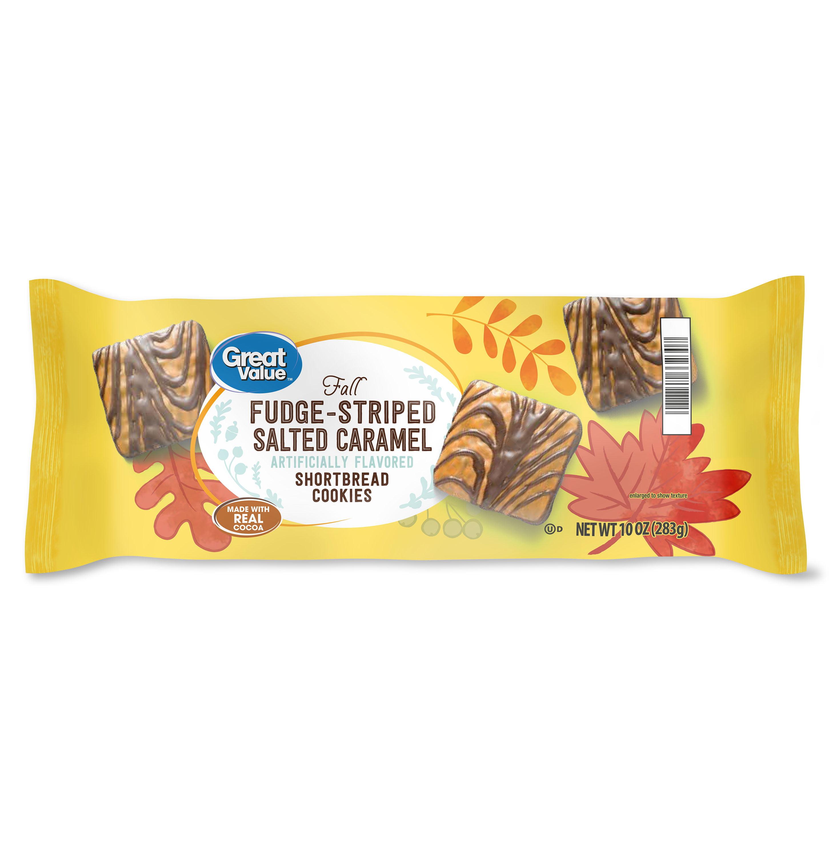 Great Value Salted Caramel Fudge Cookie