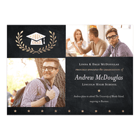 Golden Stars Graduation Announcement