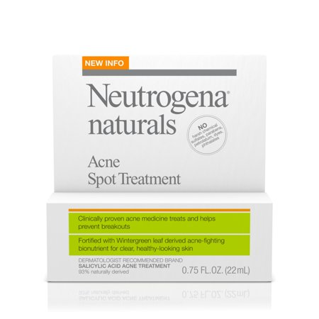 Neutrogena Naturals Acne Spot Treatment   75 Oz
