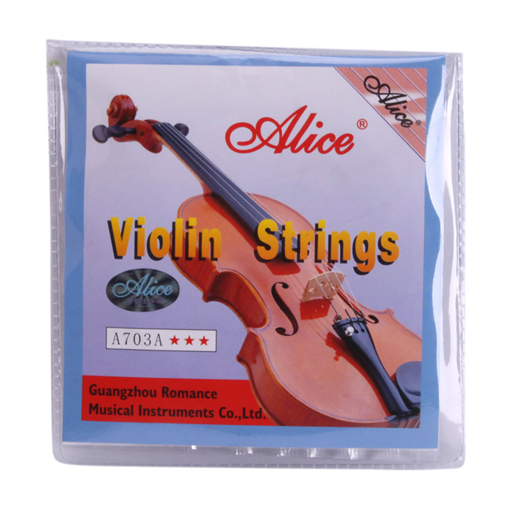 Ktaxon Ktaxon E A D G Violin Strings for Size 1 4 1 2 3 4 4 4 Set by