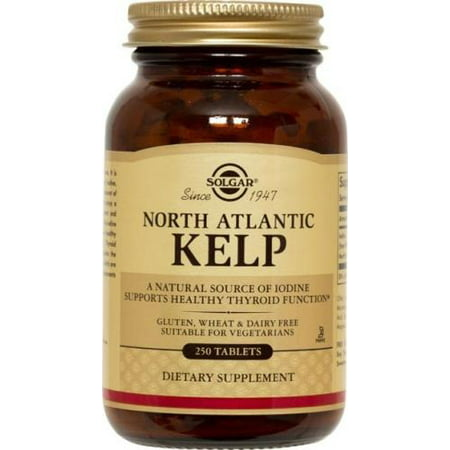 North Atlantic Kelp Solgar 250 Tabs