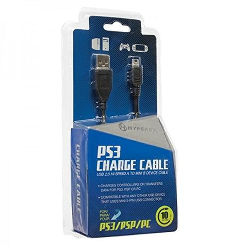 Usb Cable For Ps3 Controller Walmart: USB Charge Cable for PS3 Controller Black - Walmart.comrh:walmart.com,Design