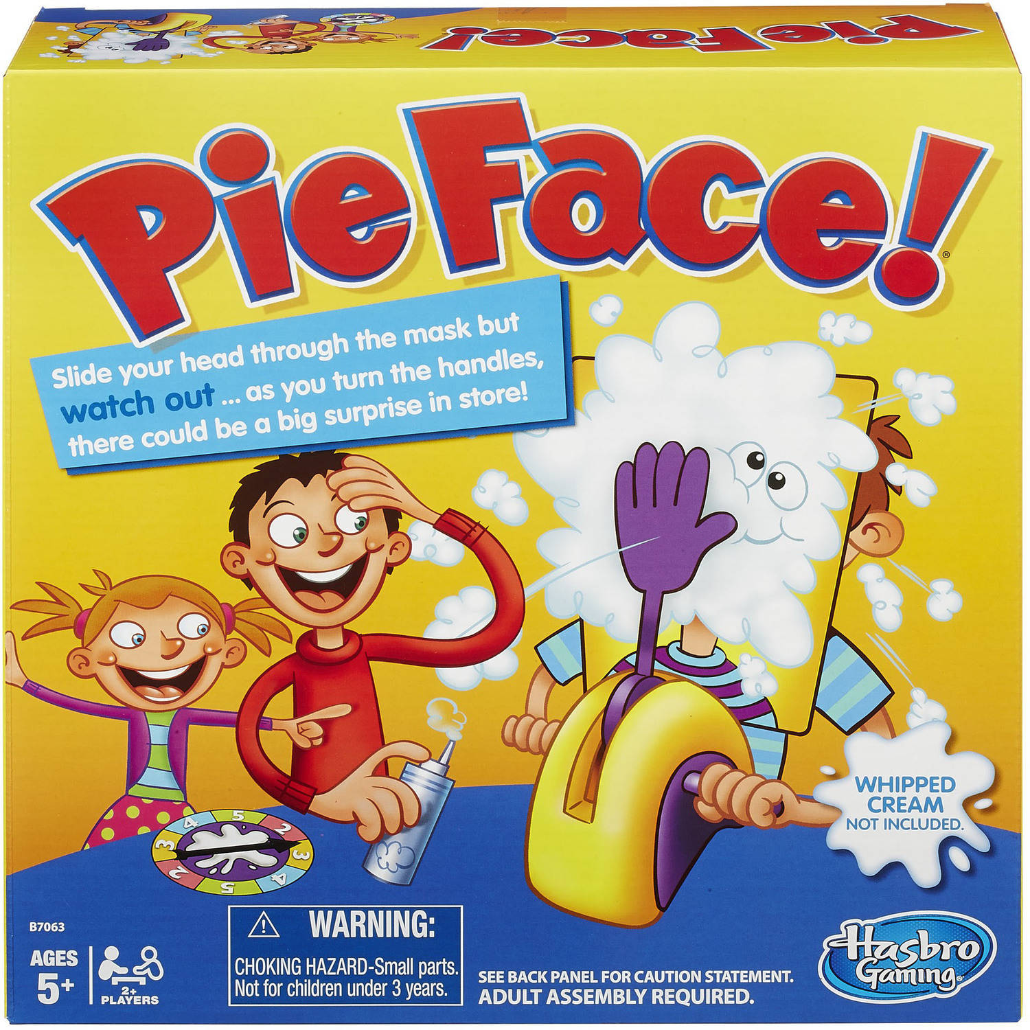 Pie Face Game B7063