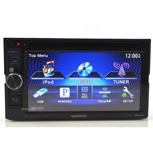 """NEW KENWOOD DDX370 6.1"""" TOUCHSCREEN DOUBLE DIN RECEIVER SIRIUS XM READY"""