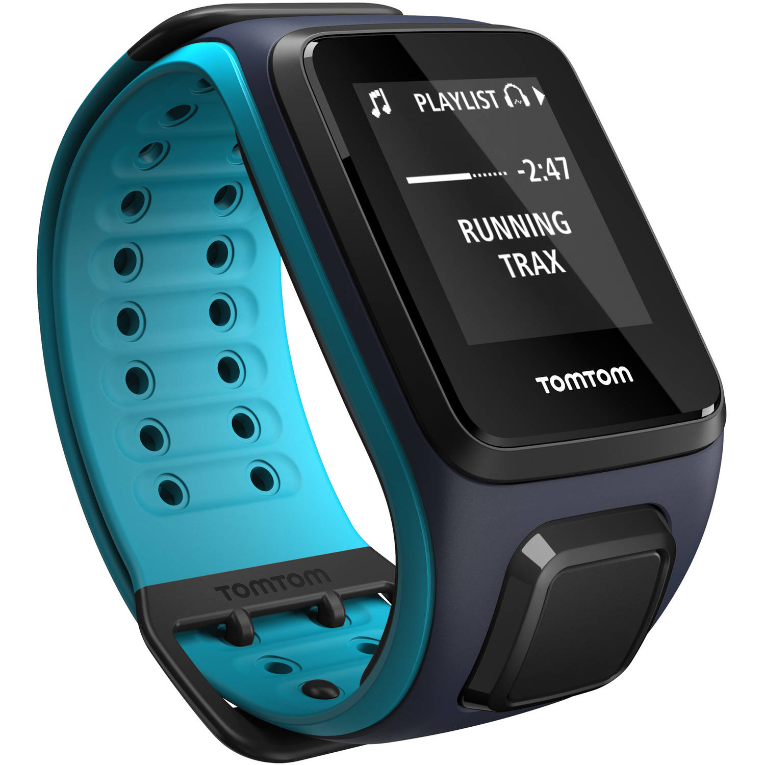 TomTom Spark Music Activity Tracker, Large, Shocking Blue