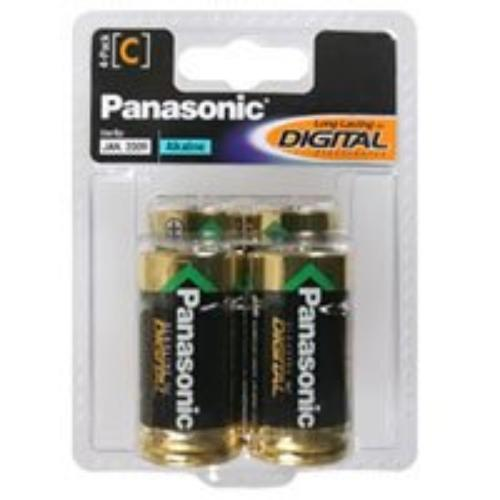 Panasonic AM2PA/4B Alkaline C-4pack [am2pa/4b]