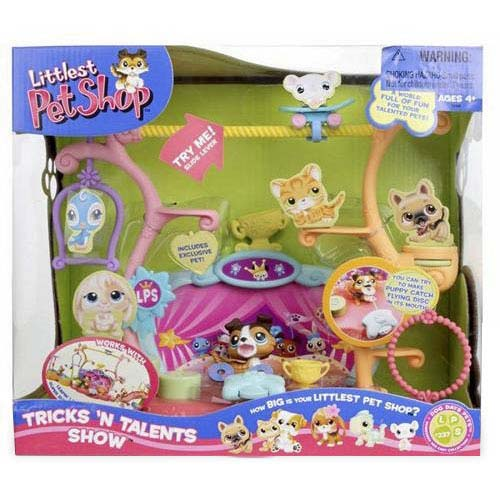 Hasbro Littlest Pet Shop Tricks 'N Talents Show Playset