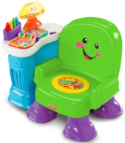 Fisher-Price Song and Story Learning Chair, An infant act...