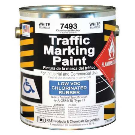 RAE Traffic Zone Marking Paint,White