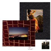 Raika NI 176 BLK 5in. x 7in. Wide Border Frame - Black