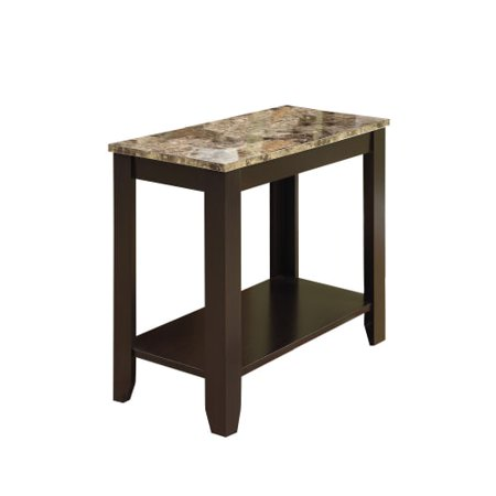 Monarch Specialties Side Table Xi 22 Inch Tall Rectangular Side