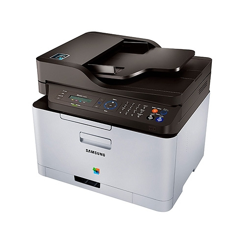 Samsung C460FW 19 ppm 600 x 600 dpi Duplex Wireless Network Color Multifunction Xpress Printer SL-C460FW
