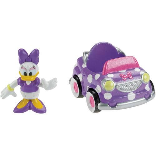 Disney Minnie Mouse Daisy's Polka Dot Car