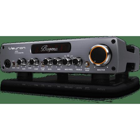 Bugera BV1001M Veyron Mosfet Ultra-Compact Class-D Bass Amplifier w/ Mosfet Preamp, Compressor, & Dynamizer - 2000 Watt