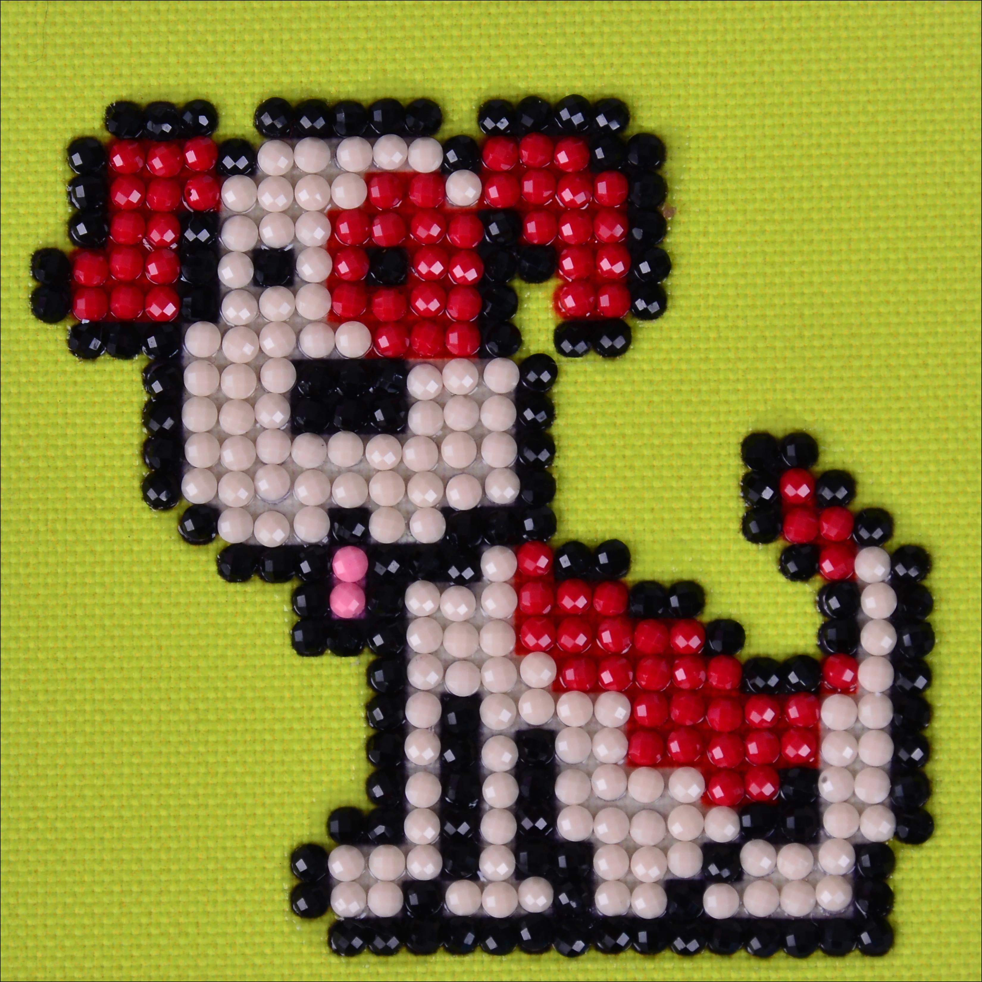 "Diamond Dotz Diamond Embroidery Facet Art Kit 4.75""X4.75""-Fido"