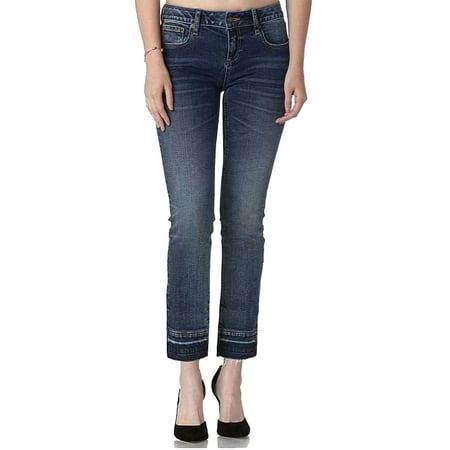 Miss Me Vintage Dark Blue Denim Ankle Skinny Jeans (Miss Me Dark Skinny Jeans)