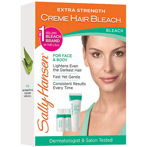 Sally Hansen Extra Strength Creme Hair Bleach For Face & Body, 1kt