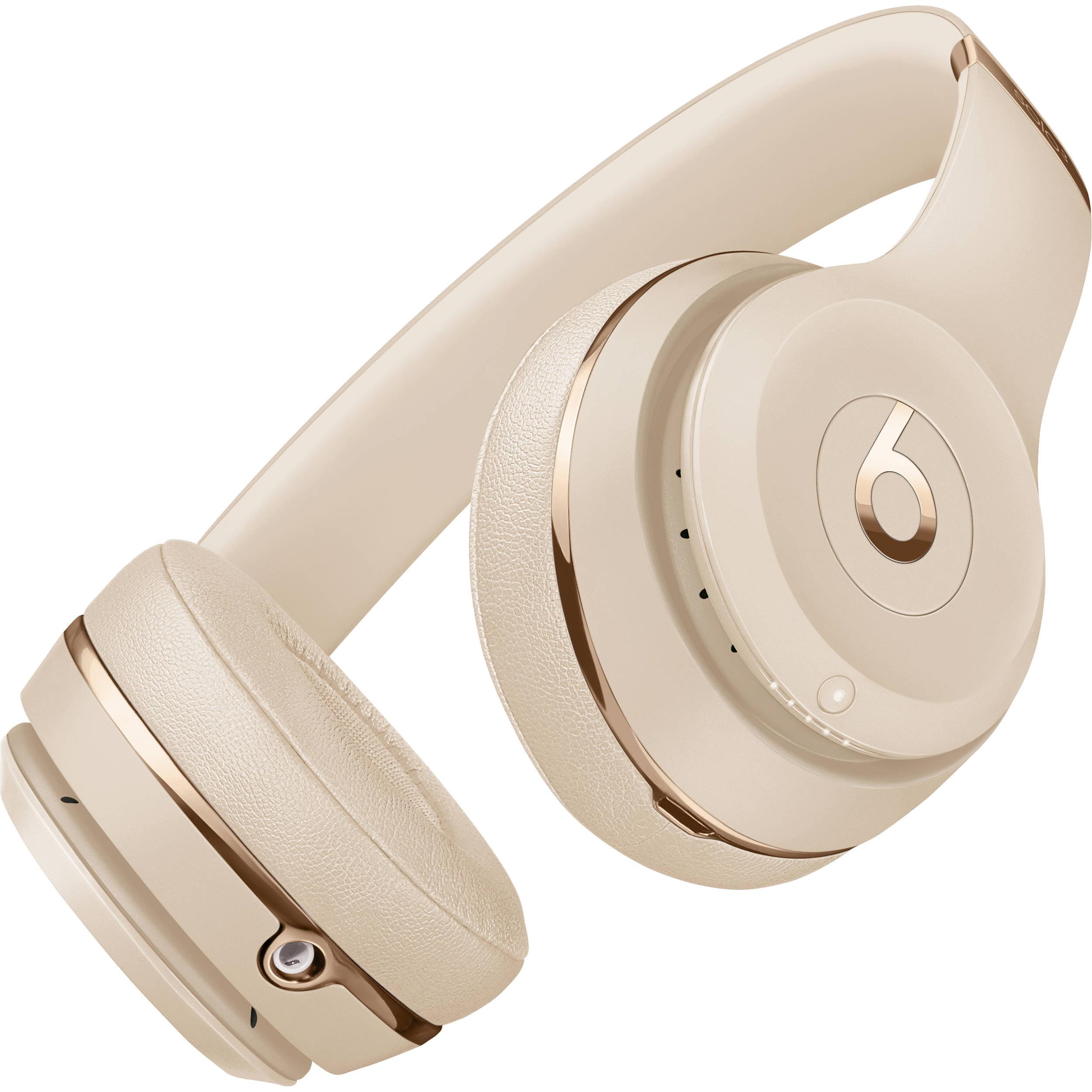 Beats Solo3 Wireless Headphones Satin Gold Walmart Com Walmart Com