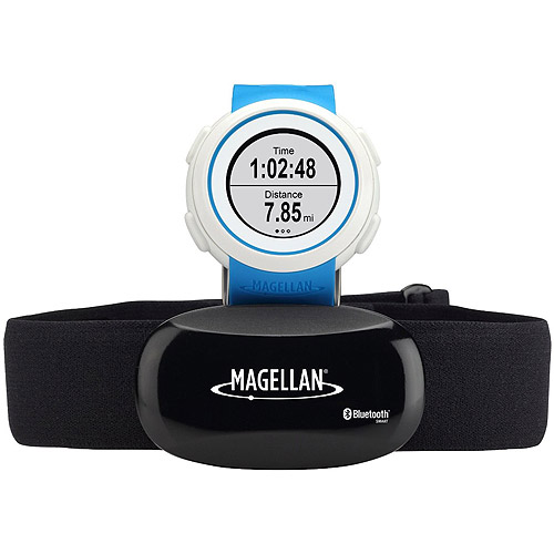 Magellan Health & Fitness TW0101SGHNA Echo With Heart Rate Monitor Wtch Bluetooth Smart Blue