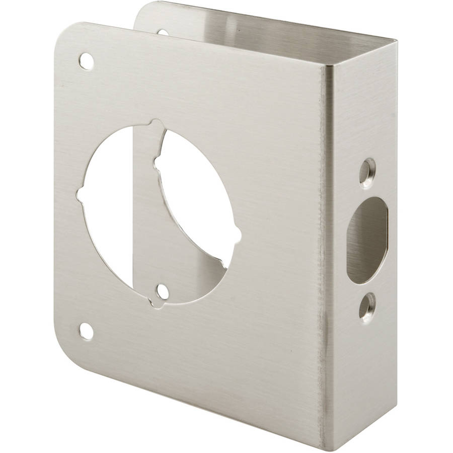 Prime Line U9589 Stainless Steel Lock and Door Reinforcer