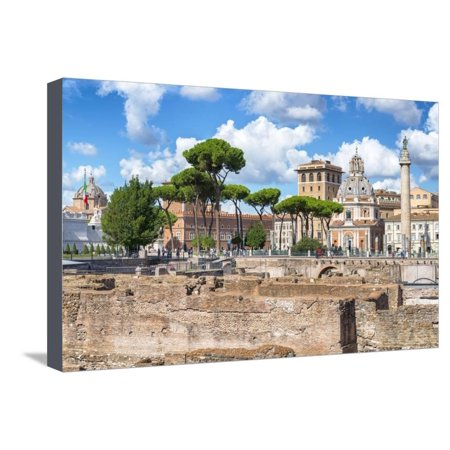 Dolce Vita Rome Collection - Roman Archaeology Columns Stretched Canvas Print Wall Art By Philippe Hugonnard](Roman Colums)