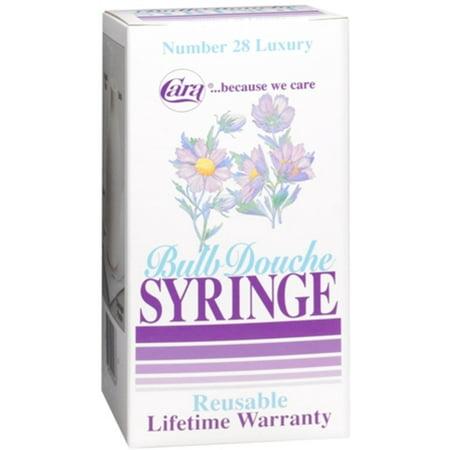 Cara Bulb Douche Syringe Luxury No. 28 1 Each (Best Douche For Men)