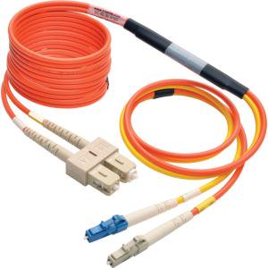 Tripp Lite 3M Fiber Optic Mode Conditioning Patch Cable (LC to SC) - Mode Conditioning Fiber Optic
