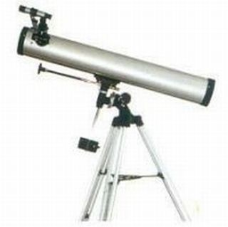 76mm Telescope Apollo Reflector With Eq Metal Tripod by Apollo Precision Tools