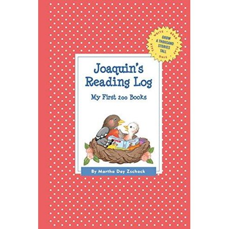 Joaquin's Reading Log: My First 200 Books (Gatst) - image 1 de 1