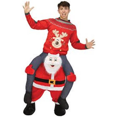 Carry Me Santa Christmas Costume](Carrie And Mr Big Halloween Costume)