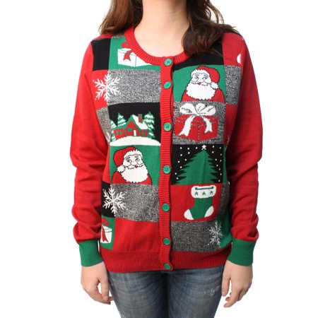 Ugly Christmas Sweater Women's Holiday Cardigan Pullover Sweatshirt](Ugly Christmas Sweater Women)