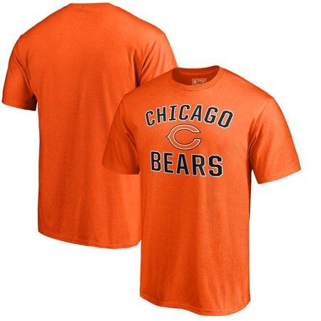 more photos 3d9cb 9816b Chicago Bears NFL Pro Line by Fanatics Branded Big & Tall Victory Arch  T-Shirt - Orange
