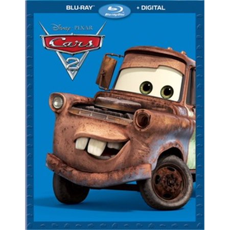 Cars 2 (Blu-ray) (Tv Shows About Cars On Cable Tv)