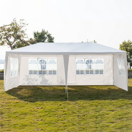 Zimtown 10' x 20' Outdoor Canopy Party Wedding Tent Heavy duty Cater Events Gazebo Pavilion