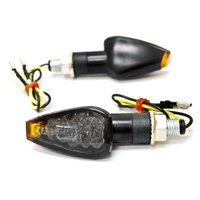 Krator Mini Custom LED Turn Signal Indicator Lights Lamp For Kawasaki Coyote Mini Trail Bike 75 90