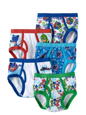 Disney PJ Masks, Boys Underwear, 5 Pack Briefs (Little Boys & Big Boys)