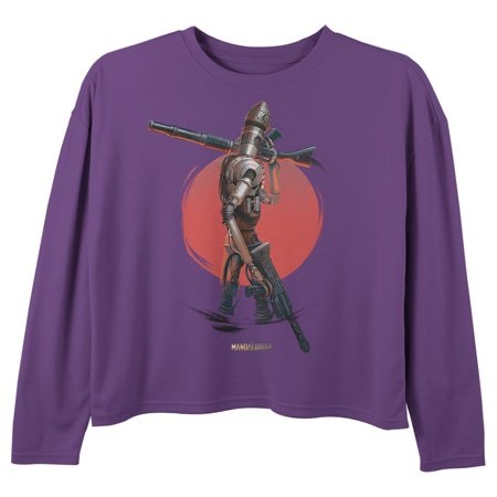 Dusty Crophopper Halloween Costume (Star Wars The Mandalorian Girls' IG-11 Dusty Sunset Long Sleeve)