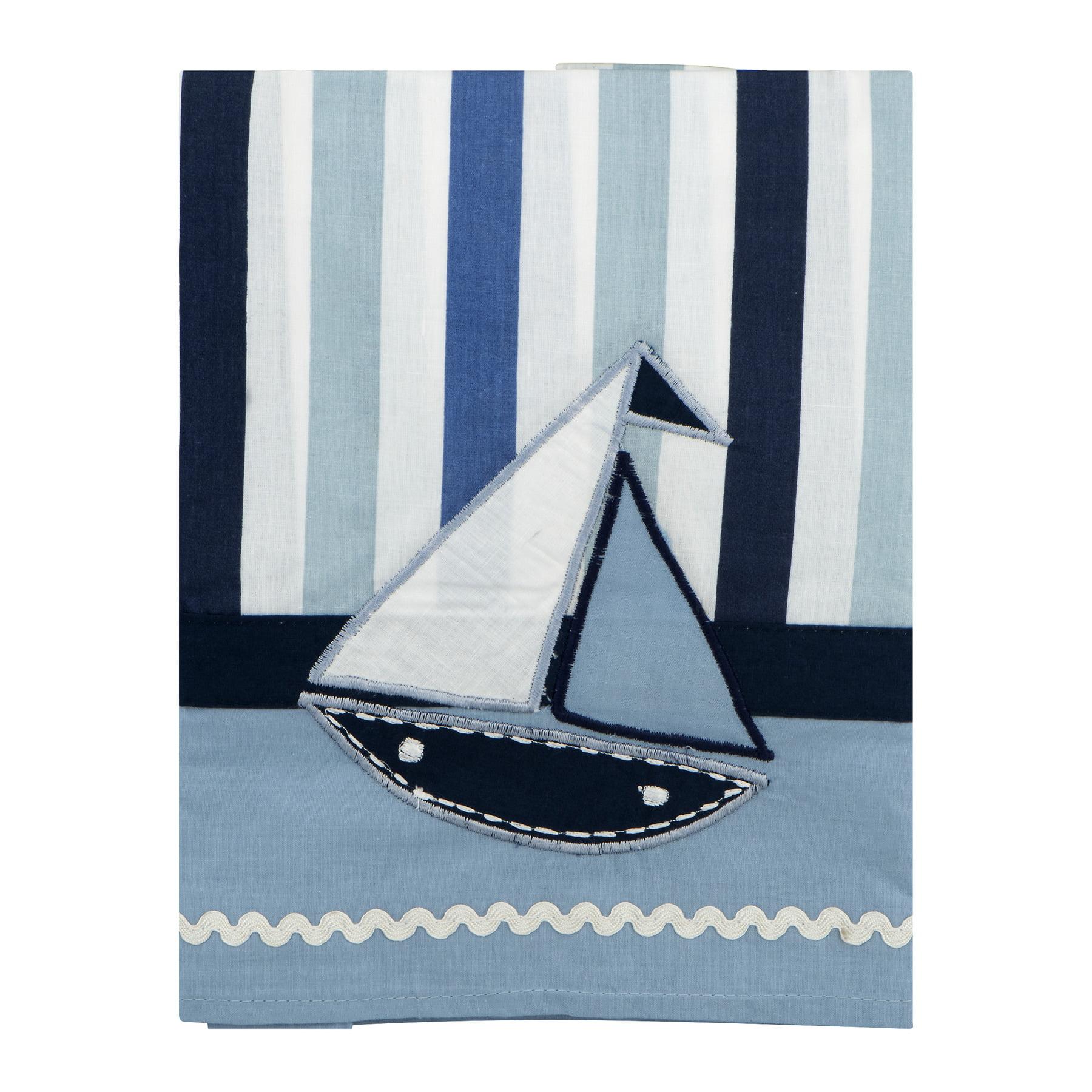 Bacati Window Valance Little Sailor, 1.0 CT