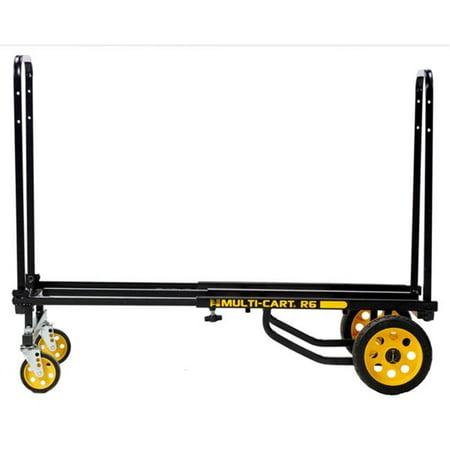 ZORO SELECT R6RT 8-Way Convertible Cart,33-1/4 In H,Black 3 Way Convertible Hand Truck