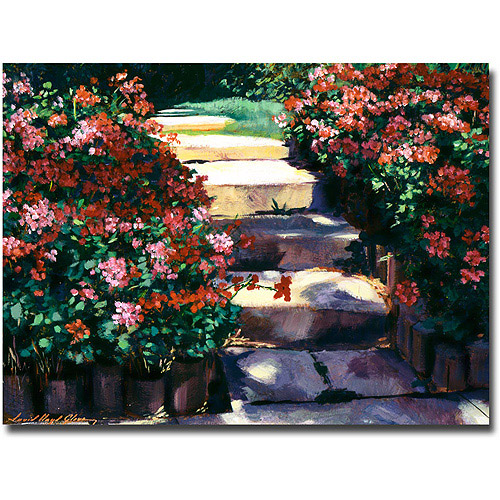 "Trademark Art ""Welcome To My Garden"" Canvas Wall Art by David Lloyd Glover"