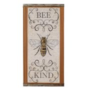 Blossom Bucket 'Bee Kind' Sign Wall Decor